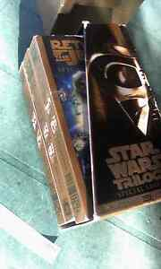 Star war's gold collection 4 movie Willagee Melville Area Preview