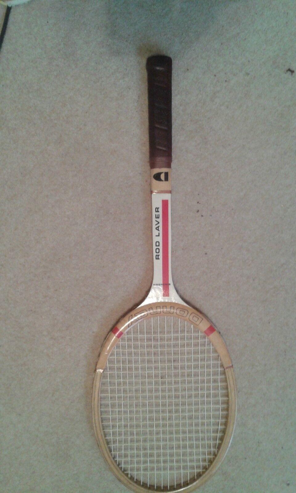 Donnay Rod LaverSwinger Tennis Racket, rare, vintage, wooden
