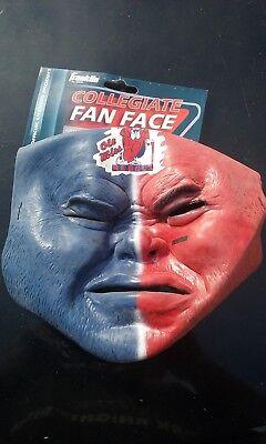 NCAA Ole Miss Rebels Fan Face Mask Franklin Halloween - Miami Dolphins Halloween Jerseys