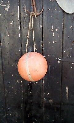 vintage fishing float buoy garden ornament