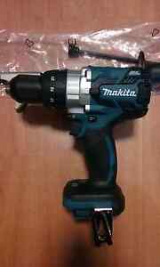 MAKITA 18V HEAVY DUTY HAMMER DRILL BRUSHLESS WITH STEEL CHUCK NEW Liverpool Liverpool Area Preview