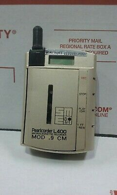 Olympus Pearlcorder L400 Ultra Compact Microcassette Voice Recorder