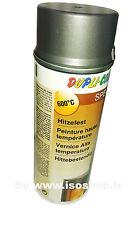 Dupli Aérosol peinture Haute Température Thermo fonte grise 600°C Spray 400 ml