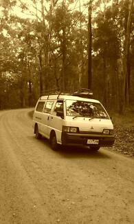 Full equiped Mitsubishi Campervan 1995 Cairns Region Preview