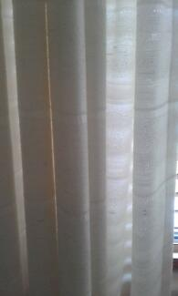 One Pair Of Pinch Pleat Curtains.