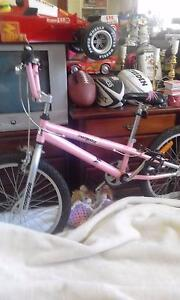 Pink mongoose bmx bike and red line bmx bike Penrith Penrith Area Preview