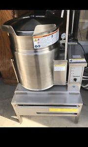 12G Gas Cleveland Steam Kettle - LIKE NEW