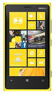 New Nokia Lumia 920  AT&T Unlocked GSM 8MP Windows 32GB Smartphone Yellow