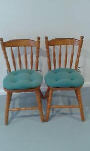 Pine kitchen/dining chairs Dungog Dungog Area Preview