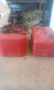 2 old scott gas tanks for outboard