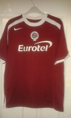 Mens Football Shirt - AC Sparta Praha Prague - Nike - Home 2004-2005 - Size L image