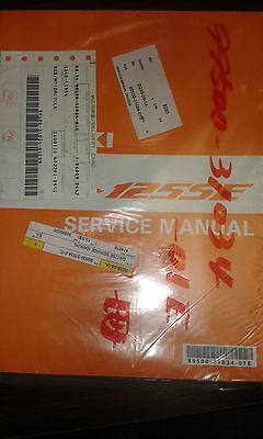 Suzuki DR125SE Scooter Dealership Factory Workshop Manual