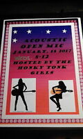 Honky Tonk Girls host open mic at the Salty Dog.