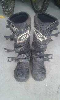 Size 10 oneal motocross boots