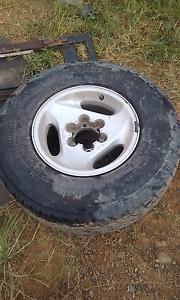 Gq patrol alloy wheels Bundook Gloucester Area Preview