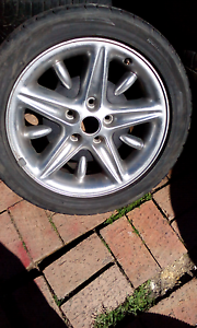 Holden alloys Garden Suburb Lake Macquarie Area Preview