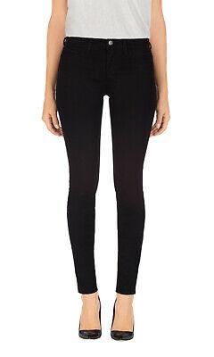 J BRAND 811K120 811 Skinny Leg Mid Rise Ankle Jean in Luxe Twill Black sz 26