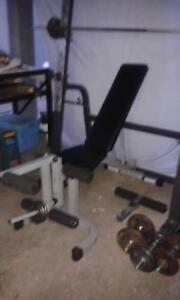 Brench Press  Home Gym + Accessories URGENT SALE Redcliffe Redcliffe Area Preview