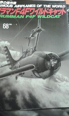 Grumman F4F Wildcat Famous Airplanes 68 Bunrin Do extrem selten gebraucht kaufen  Passau