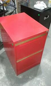 Red filing cabinet - 2 drawer [245] Braybrook Maribyrnong Area Preview