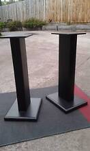 24 inch wood speaker stands spiked Box Hill North Whitehorse Area Preview