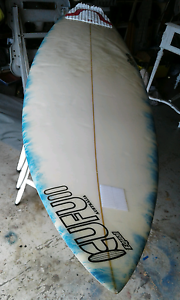 "6' 11"" Surfboard Carrara Gold Coast City Preview"