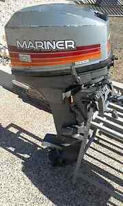 3.8m tinny with 15hp mariner outboard Karama Darwin City Preview