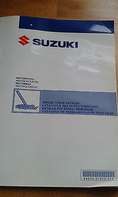 SUZUKI MOTORCYCLE SPECIAL TOOLS CATALOGUE CATALOG 1997 99530-01970-015