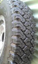 5x 5 Stud Steel Split Rims Toyota Land Cruiser 4x4 Tyres Coorparoo Brisbane South East Preview