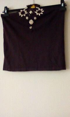 ladies fine knit halter top,by kaleidescope,size 14 never worn