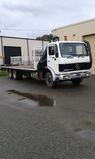 Hiab crane truck hire and transport services Maddington Gosnells Area Preview