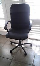 Black Office chair Sydenham Marrickville Area Preview