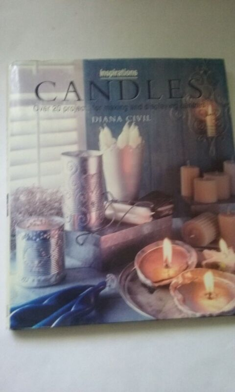 CANDLES BOOK FOR MAKING & DISPLAYING BY DIANA CIVIL