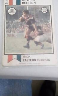 1974 rugby league cards