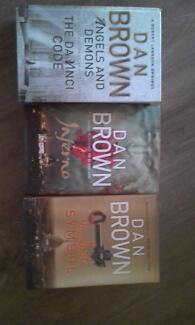 Dan Brown books - group of 3