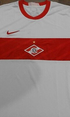 2011 2012 Spartak Moscow Football Soccer Shirt Jersey XL Bilyaletdinov Alex Era image