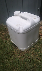 20L plastic drums Toogoolawah Somerset Area Preview