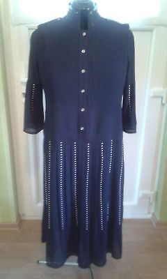 Michael Kors Business Kleid UNIKAT (das gibts nur 1mal) in blau, Gr. 46/48