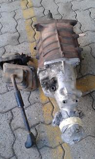 Mixed car parts