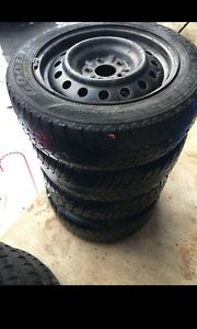 (4) Winter Tires & Rims 205 55 16