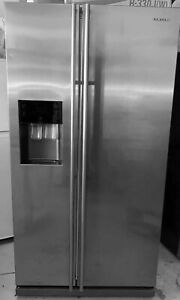 Samsung 585L Stainless Steel side by side icemaie fridge & freezer