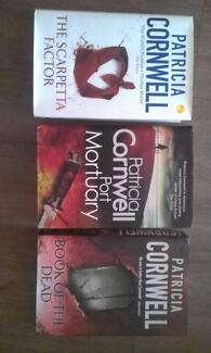 Patricia Cornwell books - group of 3