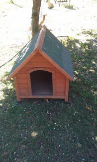 Dog kennel.