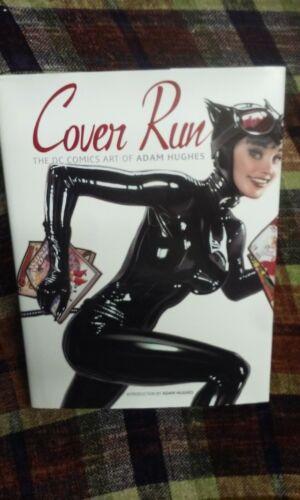 Cover Run : The DC Comics Art of Adam Hughes (2010, Hardcover) AH! HC