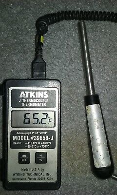 Atkins 39658-j Digital Thermocouple Thermometer