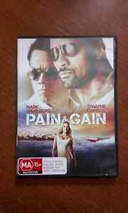 PAIN & GAIN DVD Dulwich Hill Marrickville Area Preview