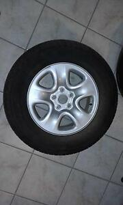 suzuki spare tire 225 70 R16 bolt pattern 5 x 114.3 rim 6.5 inch Sippy Downs Maroochydore Area Preview