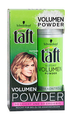 Schwarzkopf taft Sofort VOLUMEN POWDER 10g Sofort Volumizing Hair Powder