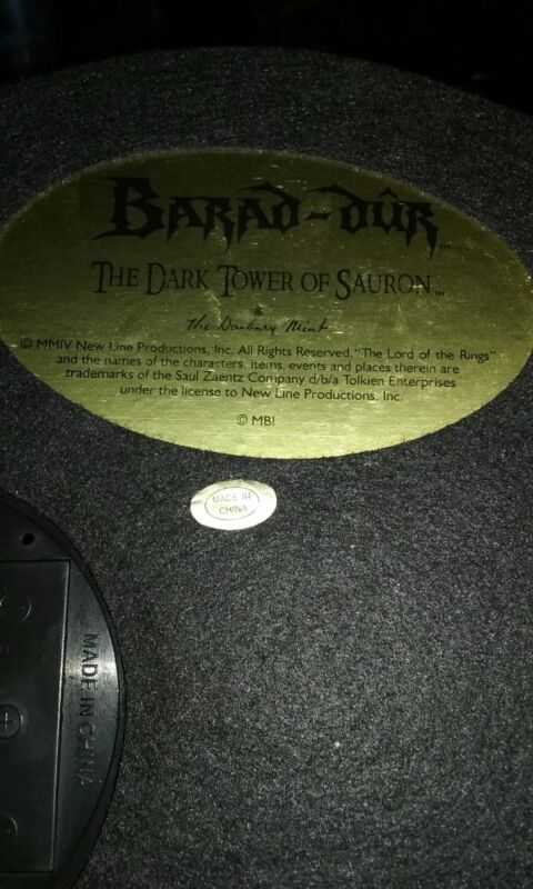 the dark tower of Sauron collectible
