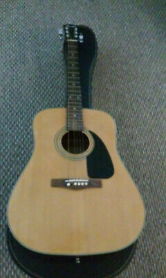 Great Fender50th aniversary  Acoustic Guitar with case